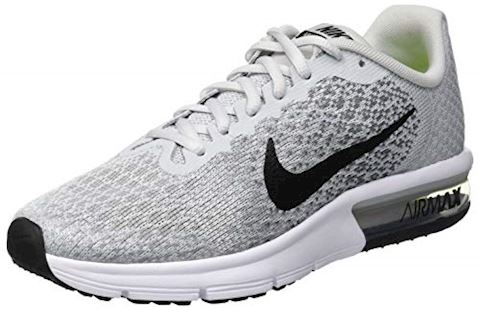 Nike Air Max Sequent 2 Older Kids'Running Shoe - Silver Image