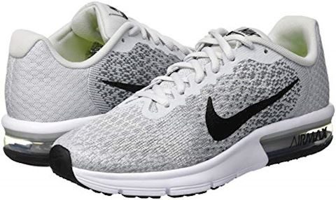 Nike Air Max Sequent 2 Older Kids'Running Shoe - Silver Image 5