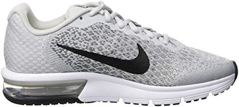 Nike Air Max Sequent 2 Older Kids'Running Shoe - Silver Image 6