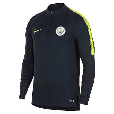 Nike Manchester City FC Dri-FIT Squad Drill Men's Long-Sleeve Football Top - Blue Image