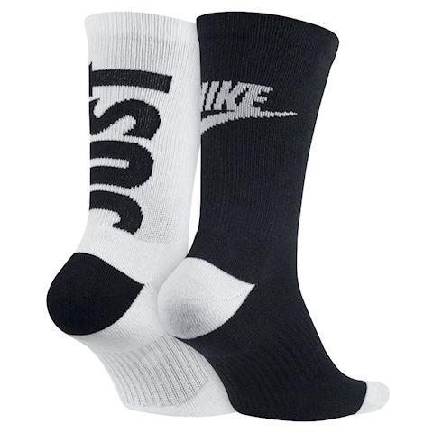 Nike Sportswear Just Do It Crew Socks (2 Pair) - Multi-Colour Image 2