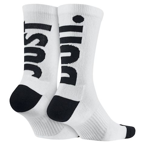 Nike Sportswear Just Do It Crew Socks (2 Pair) - Multi-Colour Image 3