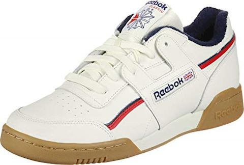 98de16f6e94 Reebok Workout Plus MU Classic White   Navy   Red Image