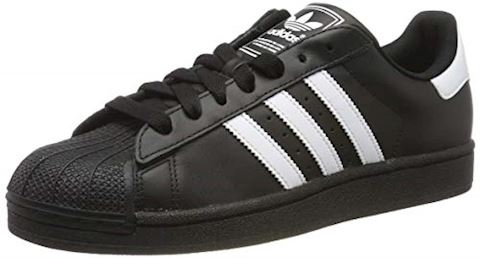 Adidas Superstar II Mens Black White Trainers Casual Shoes G17067