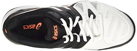 Asics  GEL-GAME 5 GS  girls's Tennis Trainers (Shoes) in Black Image 7