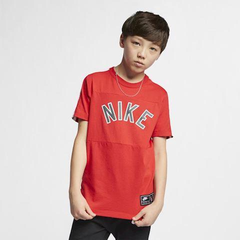 Nike Sportswear Older Kids' (Boys') T-Shirt - Red Image