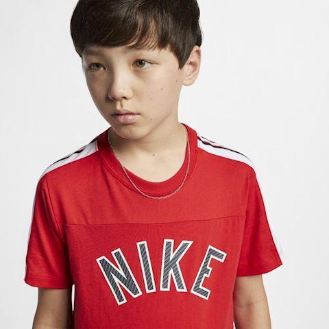 Nike Sportswear Older Kids' (Boys') T-Shirt - Red Image 3