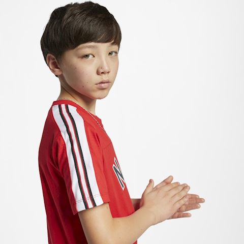 Nike Sportswear Older Kids' (Boys') T-Shirt - Red Image 4