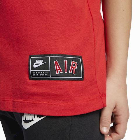 Nike Sportswear Older Kids' (Boys') T-Shirt - Red Image 5