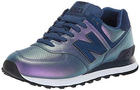 size 40 c1450 f208d New Balance WL574 women's Shoes (Trainers) in Blue