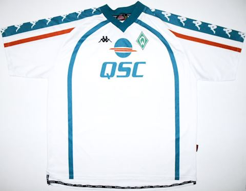 Kappa Werder Bremen Mens SS Away Shirt 2000/01 Image