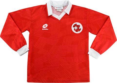 Lotto Switzerland Kids LS Home Shirt 1992 Image