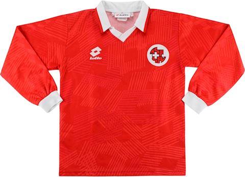 Lotto Switzerland Kids LS Home Shirt 1992 Image 2