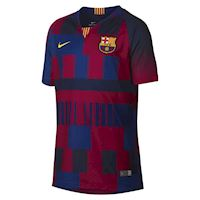 05cca4d18 Nike Barcelona Kids SS Home 20th Anniversary Shirt 2018 19