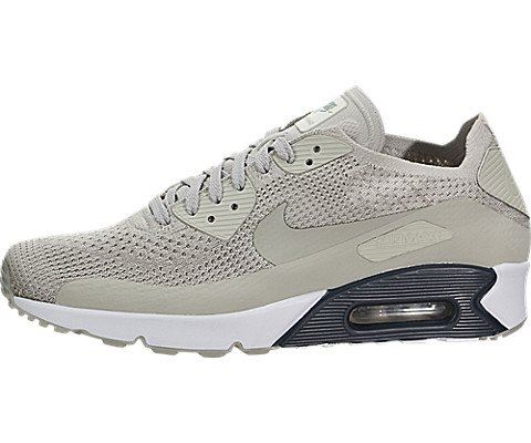 Nike Air Max 90 Ultra 2.0 Flyknit Men's Shoe - Grey Image 11