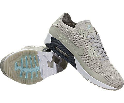 Nike Air Max 90 Ultra 2.0 Flyknit Men's Shoe - Grey Image 13