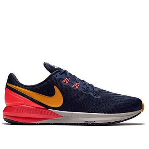 Nike Air Zoom Structure 22 Men's Running Shoe - Blue Image
