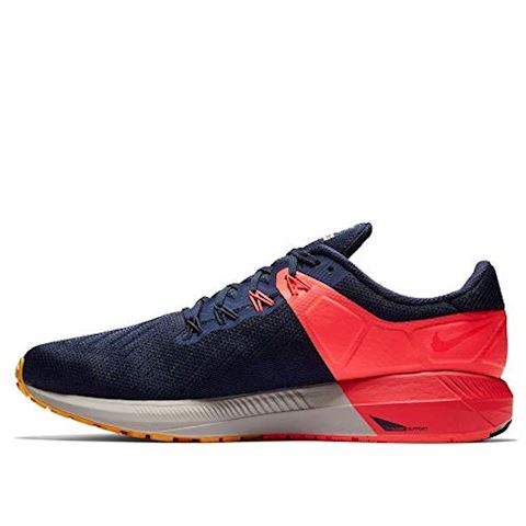 Nike Air Zoom Structure 22 Men's Running Shoe - Blue Image 3