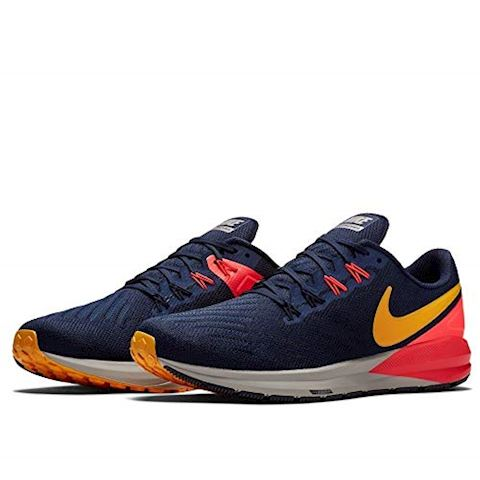 Nike Air Zoom Structure 22 Men's Running Shoe - Blue Image 4