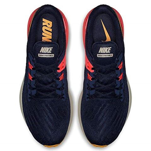 Nike Air Zoom Structure 22 Men's Running Shoe - Blue Image 5