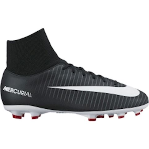 Nike Jr. Mercurial Victory VI Dynamic Fit Younger/Older Kids'Firm-Ground Football Boot - Black Image