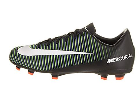 Nike Jr. Mercurial Victory VI Younger/Older Kids'Firm-Ground Football Boot - Black Image 2