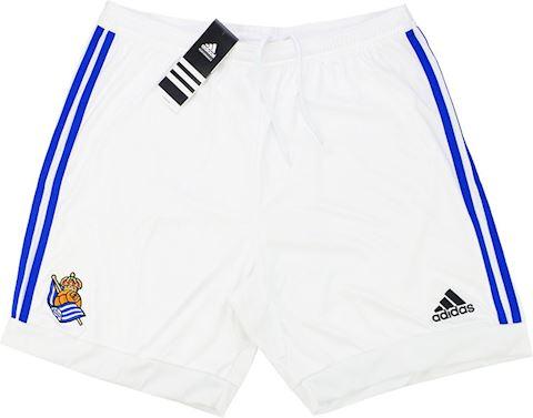 adidas Real Sociedad Mens Home Shorts 2015/16 Image