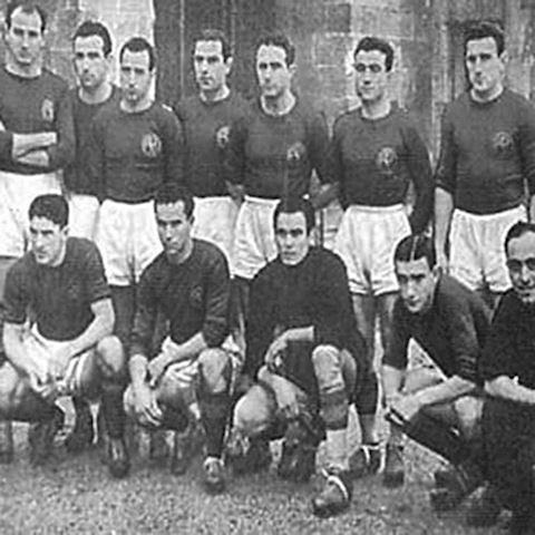 Roma Mens LS Home Shirt 1941/42 Image 7