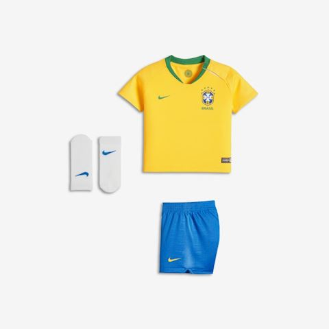 250c1a83f Nike Brazil Baby SS Home Mini Kit 2018 Image