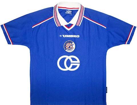 Umbro Dinamo Zagreb Mens SS Home Shirt 1998/00 Image 2