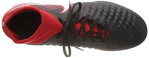 Nike MagistaX Onda II DF IC Fire - Black/White/University Red Image 7