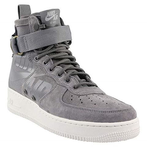 Nike SF Air Force 1 Mid Men's Shoe - Grey Image 4