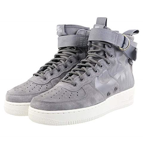 Nike SF Air Force 1 Mid Men's Shoe - Grey Image 6