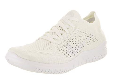 reputable site 3156a 5939c Nike Free RN Flyknit 2018 Women's Running Shoe - White