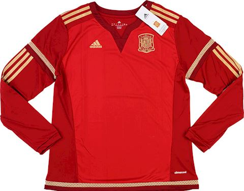 adidas Spain Womens LS Home Shirt 2015 Image