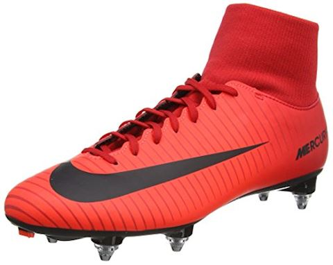 Nike Mercurial Victory VI Dynamic Fit Soft-Ground Football Boot - Red Image 2