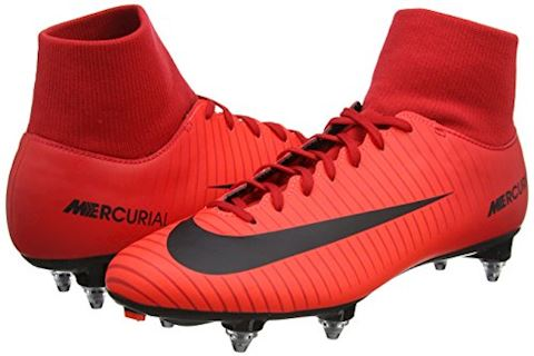 Nike Mercurial Victory VI Dynamic Fit Soft-Ground Football Boot - Red Image 6