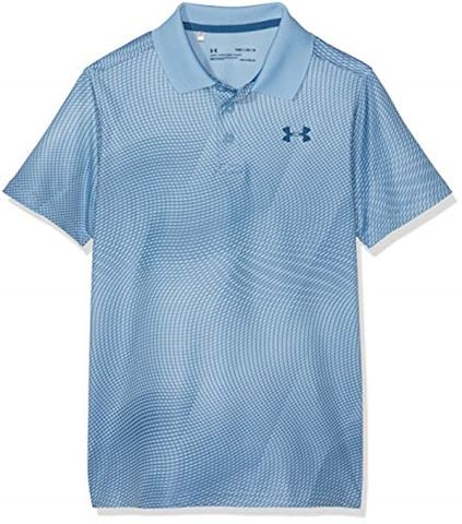 056382694 Under Armour Boys' UA Performance Polo Novelty | 1312096-413 | FOOTY.COM