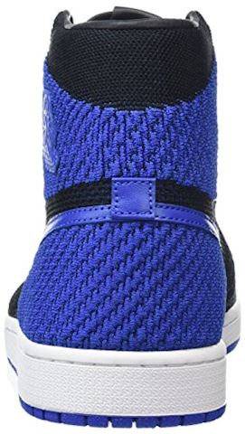 Nike Air Jordan 1 Retro High Flyknit Men's Shoe - Black Image 2