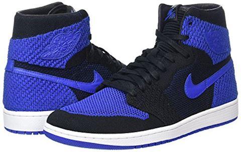 Nike Air Jordan 1 Retro High Flyknit Men's Shoe - Black Image 5