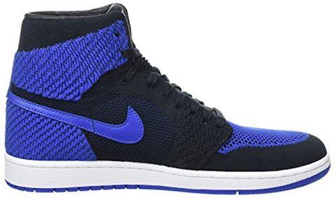 Nike Air Jordan 1 Retro High Flyknit Men's Shoe - Black Image 6
