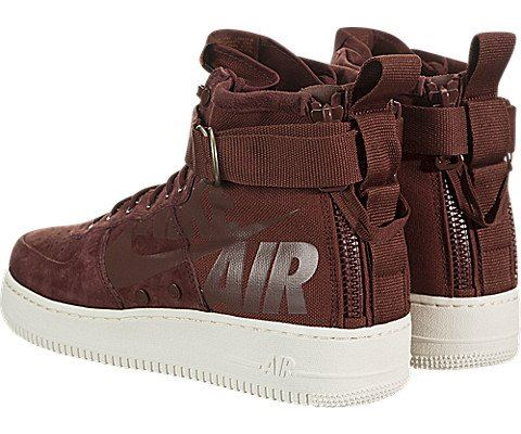 Nike SF Air Force 1 Mid Men's Shoe - Red Image 4