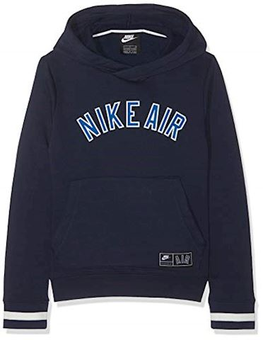 Nike Air Seasonal Fleece Hoodie - Obsidian Kids Image