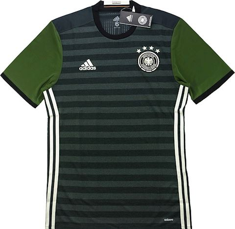 adidas Germany Mens SS Player Issue Away Shirt 2015 Image 4