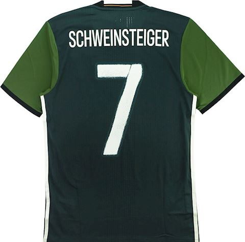 adidas Germany Mens SS Player Issue Away Shirt 2015 Image 5