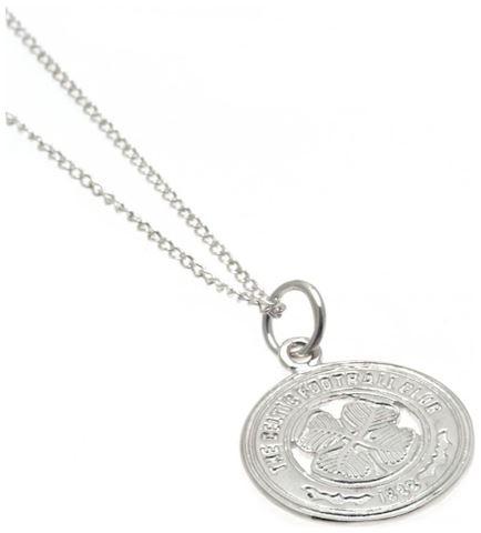 Sterling Silver Celtic FC Crest Pendant Image