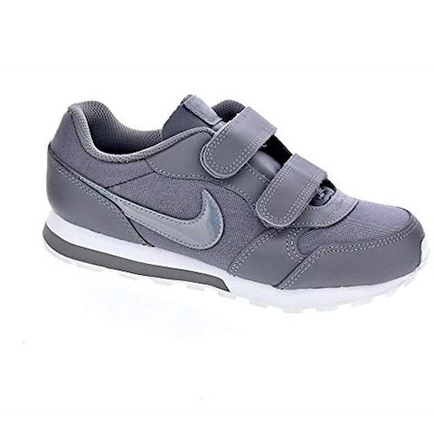 Nike MD Runner 2 Younger Kids' Shoe - Grey Image 2