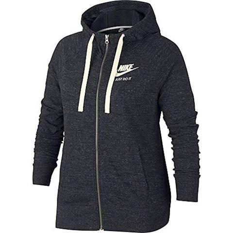 c1e360a5f1 Nike Plus Size - Sportswear Gym Vintage Women s Full-Zip Hoodie - Black  Image