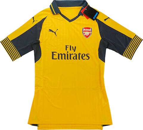Puma Arsenal Mens SS Player Issue Away European Shirt 2016/17 Image