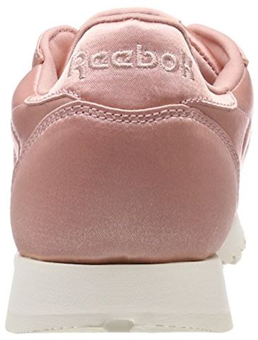 Reebok Classic  CLASSIC LEATHER SATIN  women's Shoes (Trainers) in Pink Image 2